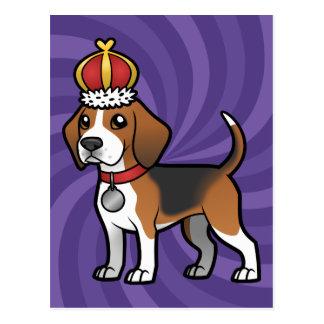 Entwerfen Sie Ihr eigenes Haustier Postkarte