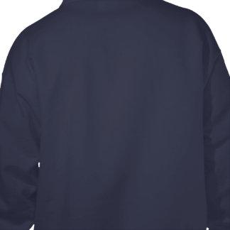 Entwerfen Sie Ihr eigenes Marine-Blau Kapuzensweatshirts