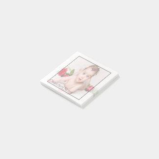 Entwerfen Sie Ihr eigenes personalisiertes Foto Post-it Klebezettel