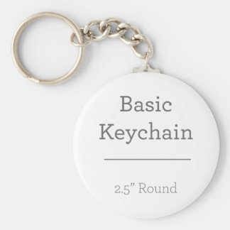 Entwerfen Sie Ihr eigenes rundes Foto Keychain Standard Runder Schlüsselanhänger