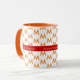 entwerfen Sie Ihre eigene OrangefarbeTasse mit Tasse