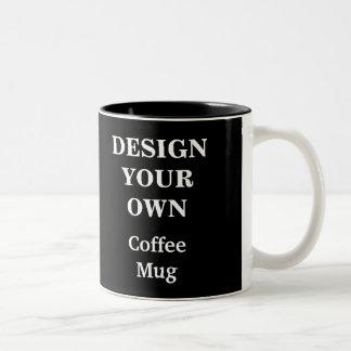 Entwerfen Sie Ihre eigene Tasse - Schwarzes