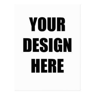 Entwerfen Sie Ihre Selbst Postkarte