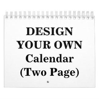 Entwerfen Sie Ihren eigenen Kalender 2018 (Seite