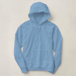 Entwerfen Sie Ihren eigenen OM Baby-Blau-farbigen Hoodie