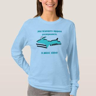 ENTWERFEN SIE OBERES MICHIGAN, DAS IN SNOWMOBILE T-Shirt