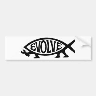Entwickeln Sie Fische Autoaufkleber