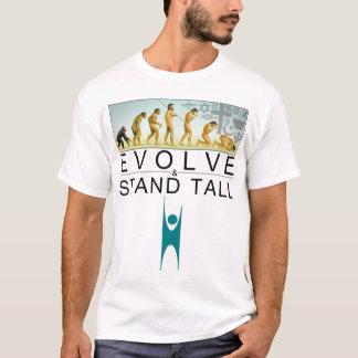 Entwickeln Sie u. stehen Sie hoch T-Shirt