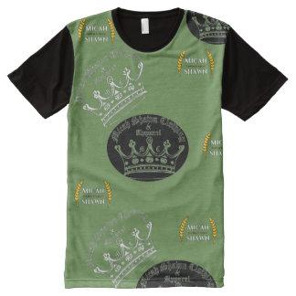 Entwickelndes Logo-Vintages KleiderShirt T-Shirt Mit Komplett Bedruckbarer Vorderseite