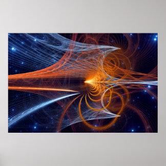 Entwirren der Geheimnisse des Universums Plakatdrucke