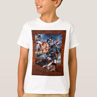 Entworfener Motocross T-Shirt