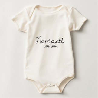 Entworfenes Namaste Yoga Baby Strampler