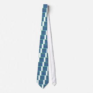 Entwurf ananases blau krawatte