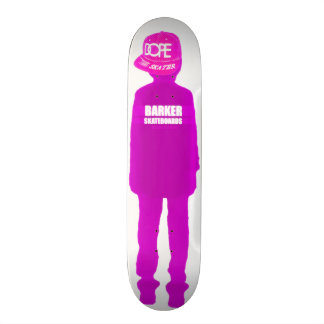 Entwurf BARKERskateboards-(SCHMIEREN-SKATER) Skateboard Brett