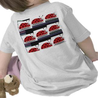 Entwurf Damen-Bug LADYbug Insect Fantasy T-shirt