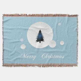 Entwurf der frohen Weihnachten Decke
