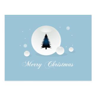 Entwurf der frohen Weihnachten Postkarte