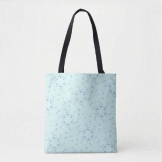 Entwurf des blauen Sternes Tasche