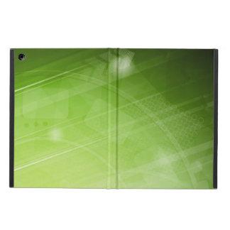 Entwurf des grünen Lichtes in der High-Techen Art