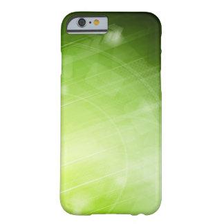 Entwurf des grünen Lichtes in der High-Techen Art Barely There iPhone 6 Hülle