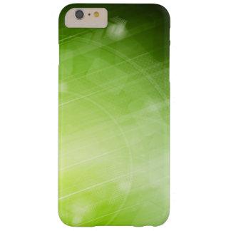 Entwurf des grünen Lichtes in der High-Techen Art Barely There iPhone 6 Plus Hülle