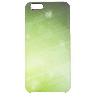 Entwurf des grünen Lichtes in der High-Techen Art Durchsichtige iPhone 6 Plus Hülle