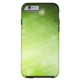 Entwurf des grünen Lichtes in der High-Techen Art Tough iPhone 6 Hülle