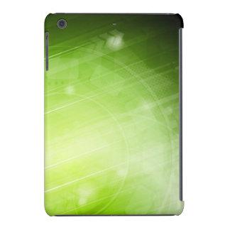 Entwurf des grünen Lichtes in der High-Techen Art iPad Mini Retina Hülle