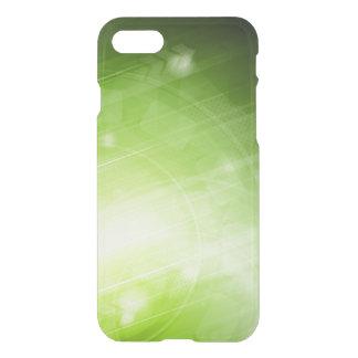 Entwurf des grünen Lichtes in der High-Techen Art iPhone 7 Hülle