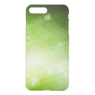 Entwurf des grünen Lichtes in der High-Techen Art iPhone 7 Plus Hülle