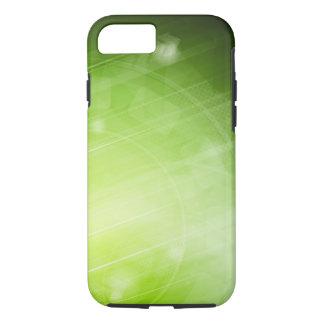 Entwurf des grünen Lichtes in der High-Techen Art iPhone 8/7 Hülle