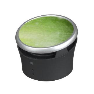 Entwurf des grünen Lichtes in der High-Techen Art Lautspercher