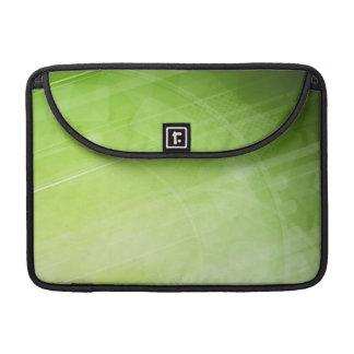 Entwurf des grünen Lichtes in der High-Techen Art MacBook Pro Sleeves