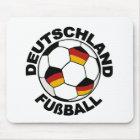 Entwurf Deutschland Fußball Mousepad