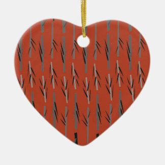 Entwurf ethno Bambusbraun Keramik Ornament