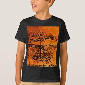 Entwurf für einen Hubschrauber T-Shirt