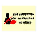 Entwurf für Kinderrechte: Keine Kindersoldaten!