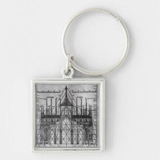 Entwurf für Mailand-Kathedrale Schlüsselanhänger