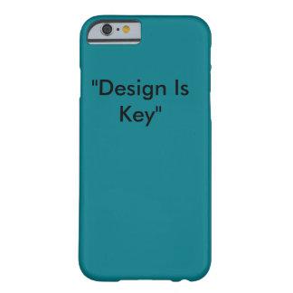 Entwurf ist Schlüsseltelefonkasten Barely There iPhone 6 Hülle