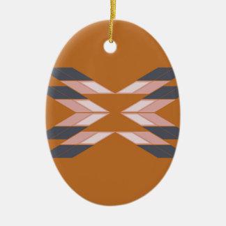 Entwurf Mandala ÖKO BROWN Keramik Ornament
