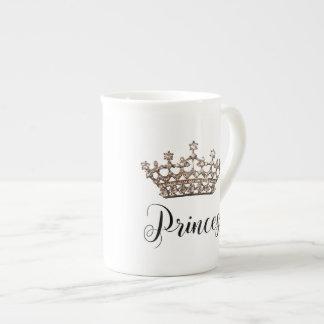 "Entwurf ""Prinzessin-"" Tiara Porzellantasse"
