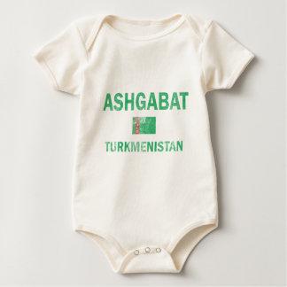 Entwürfe Aschgabats Turkmenistan Baby Strampler