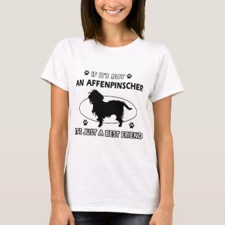 Entwürfe des besten Freunds des AFFENPINSCHER T-Shirt