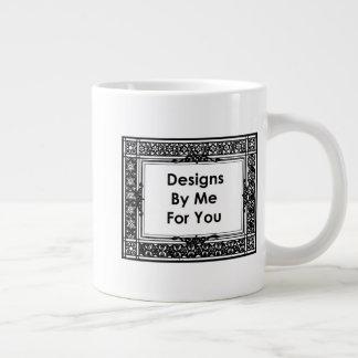 Entwürfe durch mich für Sie Jumbo-Tasse