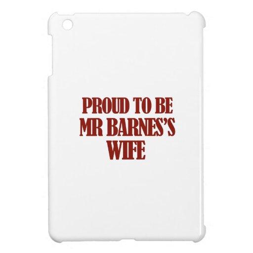 Entwürfe Frau Barnes iPad Mini Hülle