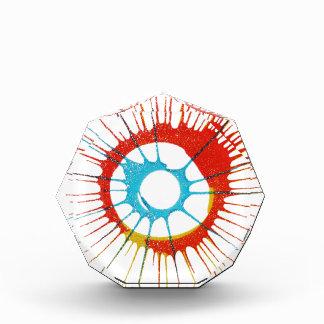 Entwurfs-Farbkreis, Wand, formt Runde, Kunst Styl Acryl Auszeichnung