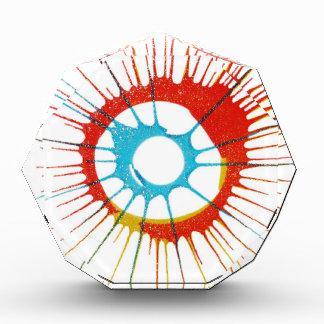 Entwurfs-Farbkreis, Wand, formt Runde, Kunst Styl Auszeichnung