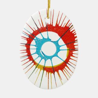 Entwurfs-Farbkreis, Wand, formt Runde, Kunst Styl Keramik Ornament