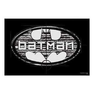 Entwurfs-Logo Batmans | Poster