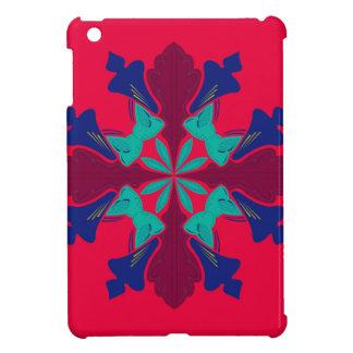 Entwurfs-Mandala Ethno Rot iPad Mini Hülle